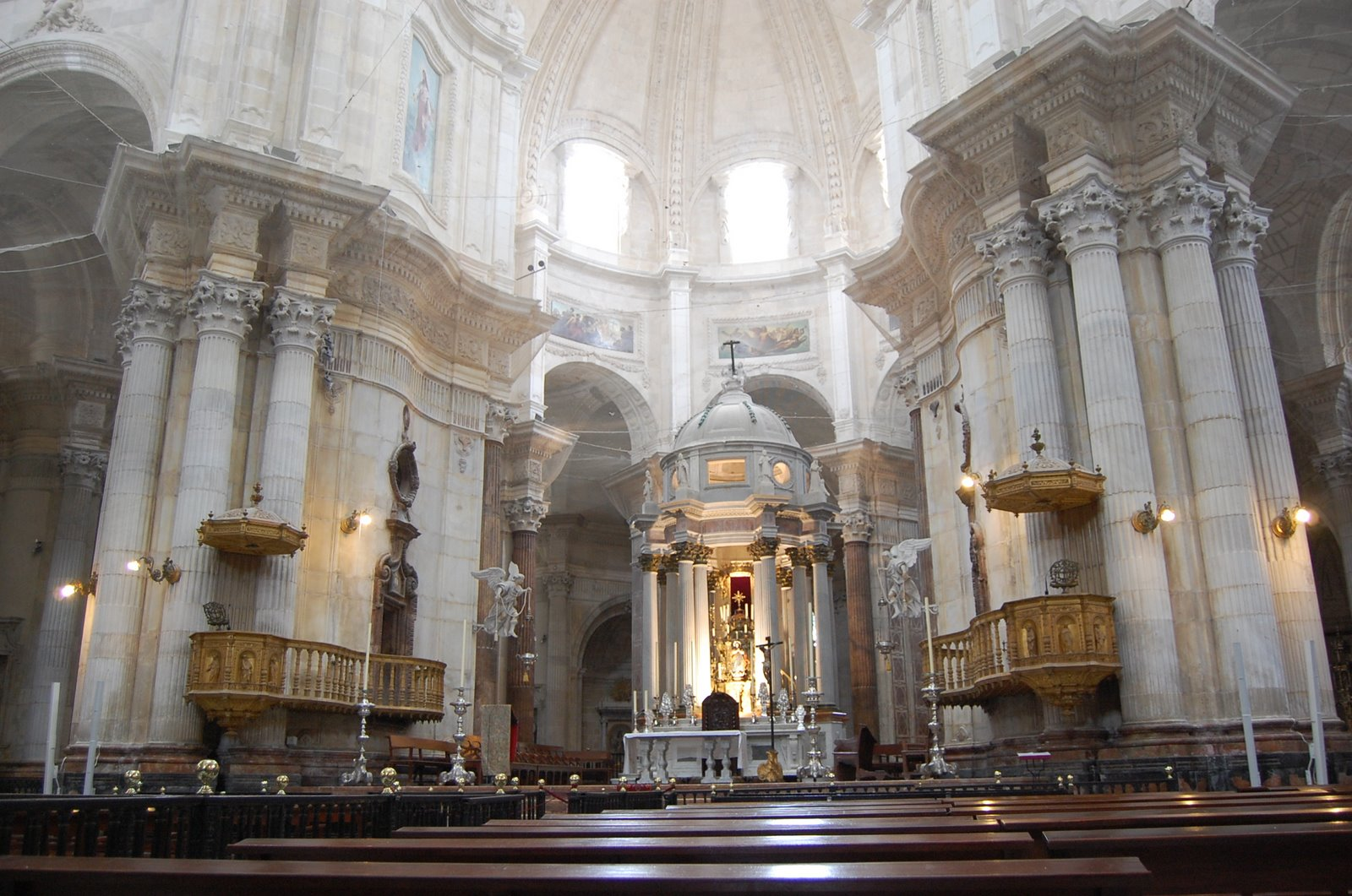 Andalucia Cathedral Of cadiz Spain - FrizeMedia