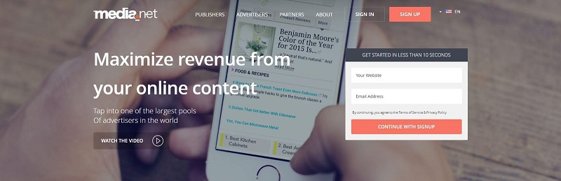 Contextual ads+2nd largest pool of advertisers globally.Powerful combo.Give it a shot. #bloggers #makemoneyblogging
