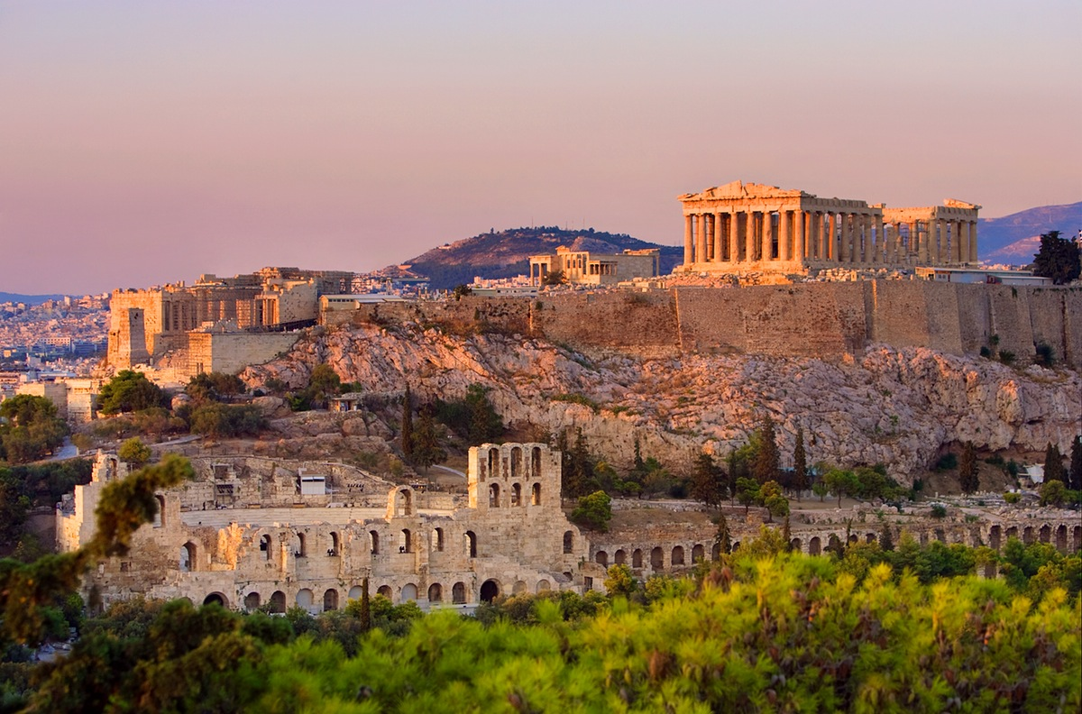 Athens - Students can visit Acropolis, Agora, Library of Hadrian