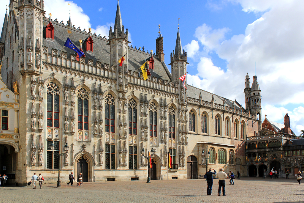 Brussels Tourism - Bruges - Stadhuis - TownHall - Belgium - FrizeMedia