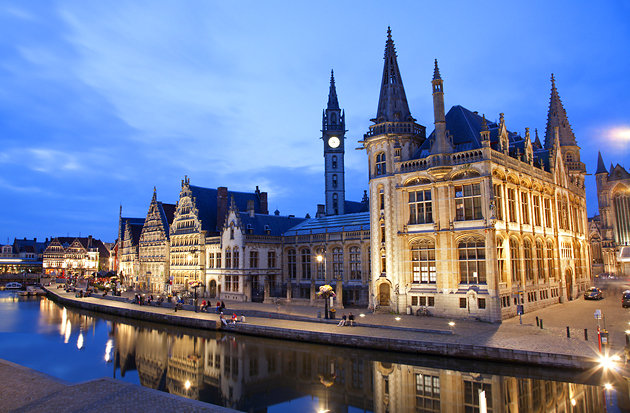Brussels Tourism - Ghent Belgium - FrizeMedia
