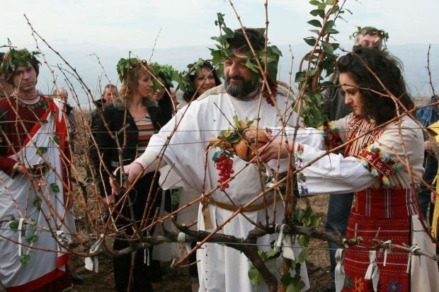 Bulgarian Culture Trifon Zarezan Rite - #BulgarianCulture - #Festivals And #Traditions #Travel #FrizeMedia
