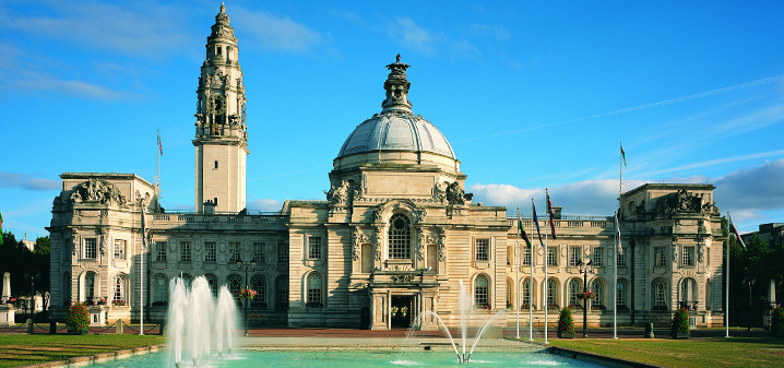 Cardiff City Hall - #Cardiff City Guide - One Of Europes Beautiful Maritime Cities #Travel