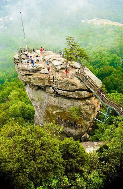 North Carolina - Chimney Rock - FrizeMedia - DigitalMarketing