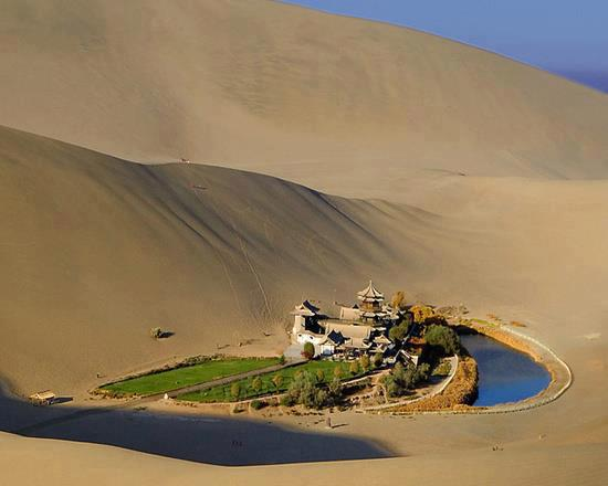 Crescent Lake - Dunhuang - Gansu China