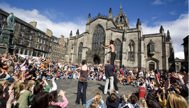 Edinburgh Festival Scotland