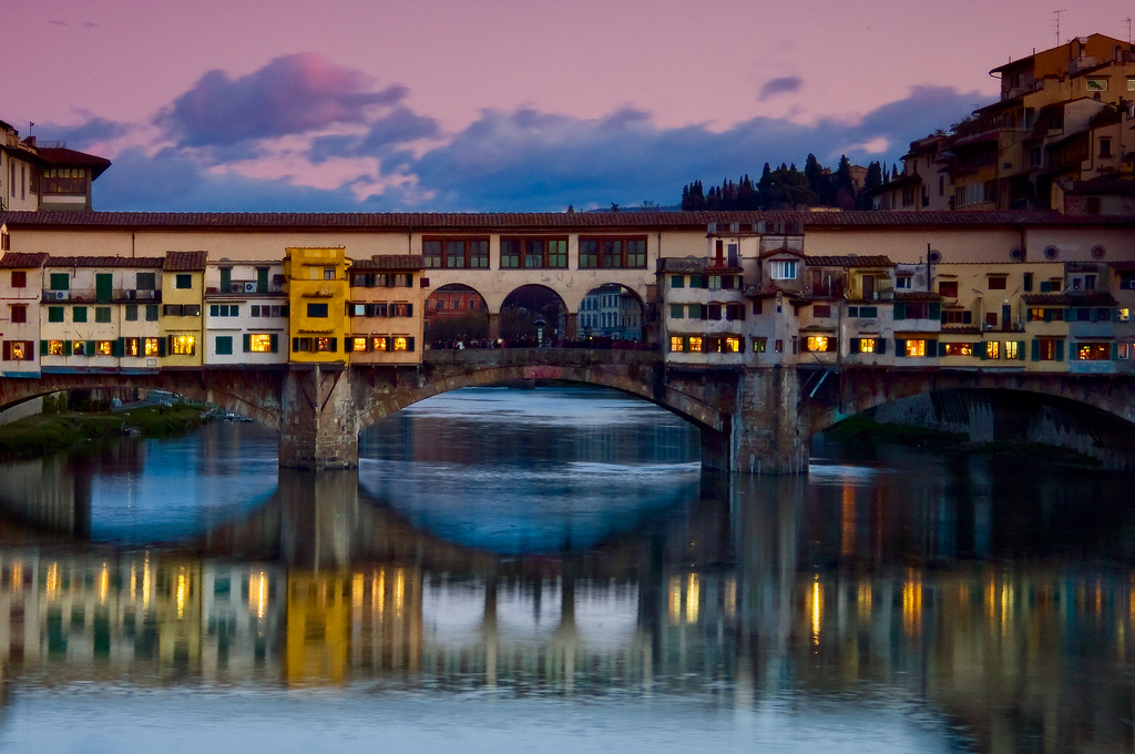 Tuscany - Florence - Ponte Vecchio - Medieval Bridge - FrizeMedia - Digital Marketing And Advertising - Charles Friedo Frize