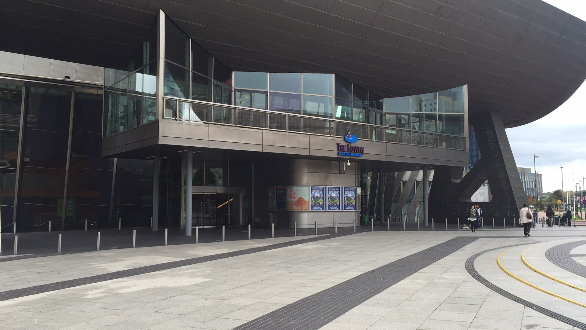 Lowry Theater Salford Quays