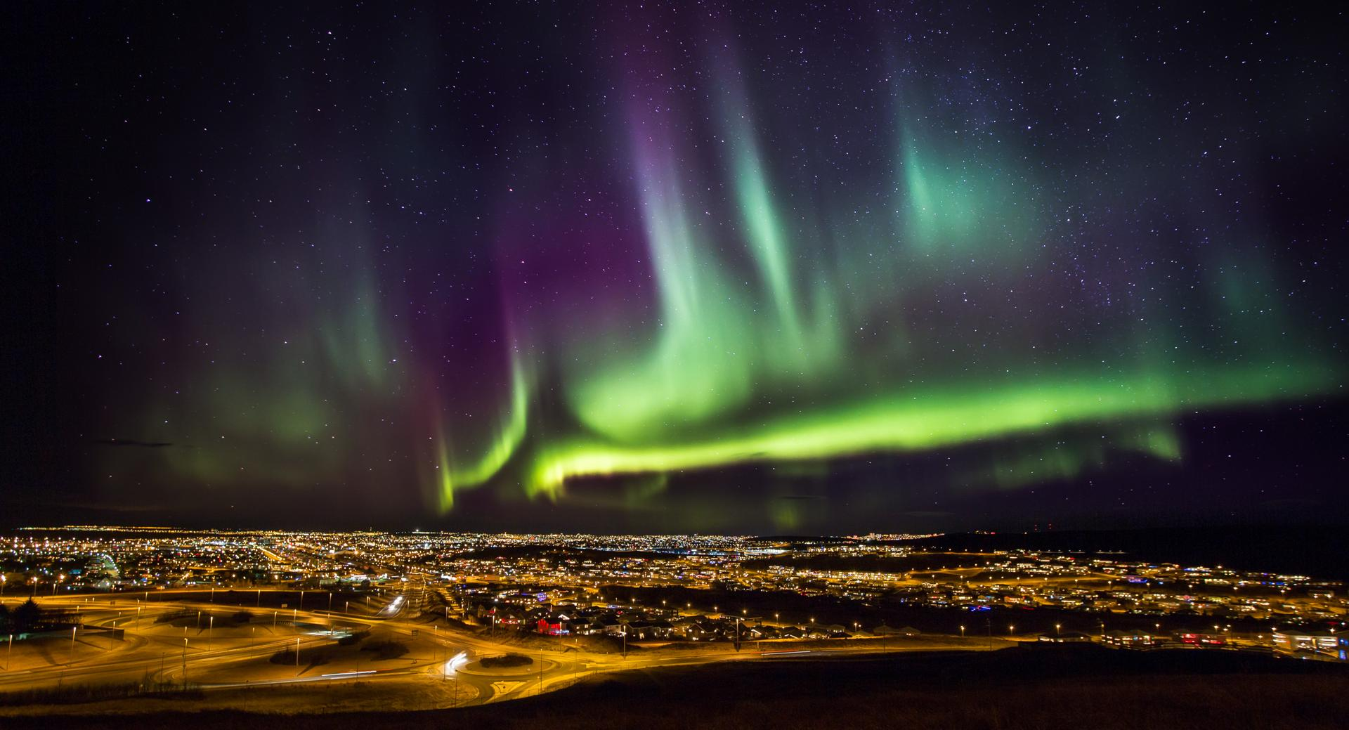 Iceland Northern Lights - Aurora