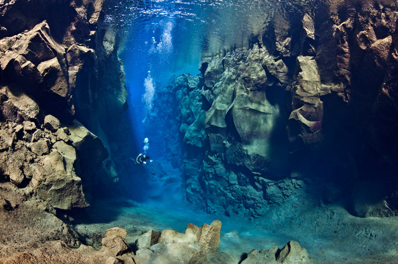 Iceland - Tectonic Plate Diving Between Europe And America - FrizeMedia - Digital Marketing Advertising Consulting