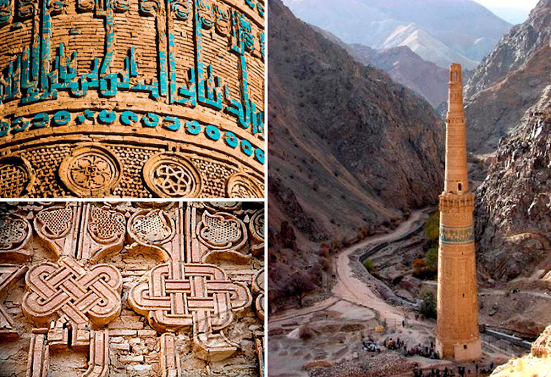 Minaret Of Jam - #UNESCO World Heritage Site #travel #tourism #Asia #FrizeMedia