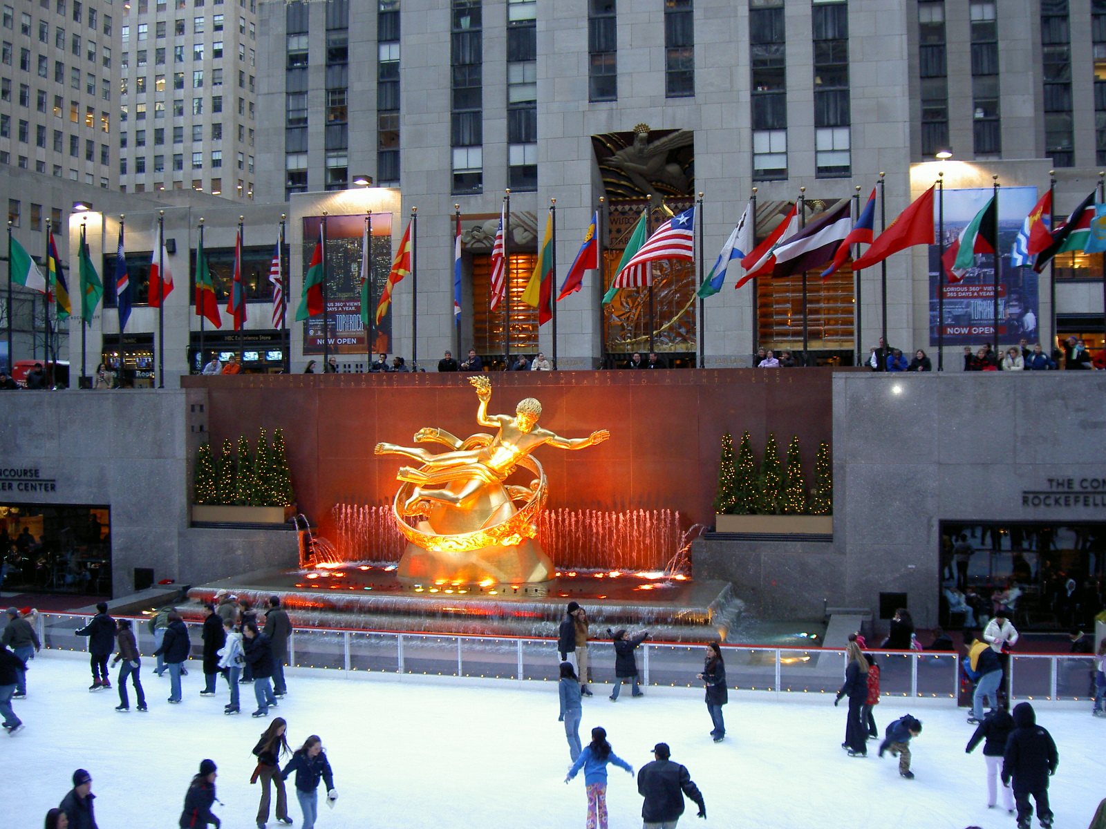 New York Rockefeller Center - FrizeMedia