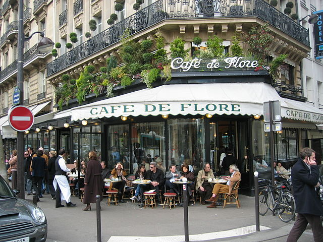 Paris Cafe Scene - France - FrizeMedia - Digital Marketng Advertising Consulting