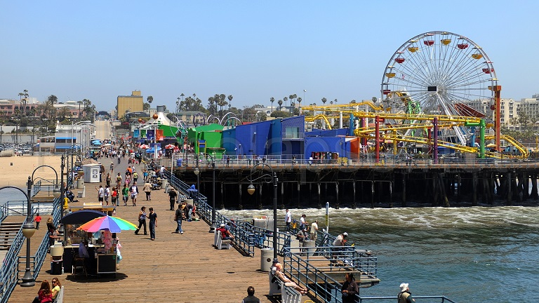 #SantaMonica - #BeachCity In Southern #California #Travel #FrizeMedia