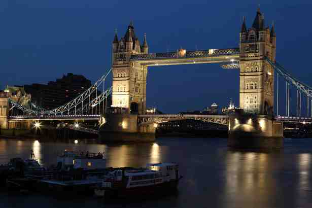 Tower Bridge At Night - FrizeMedia