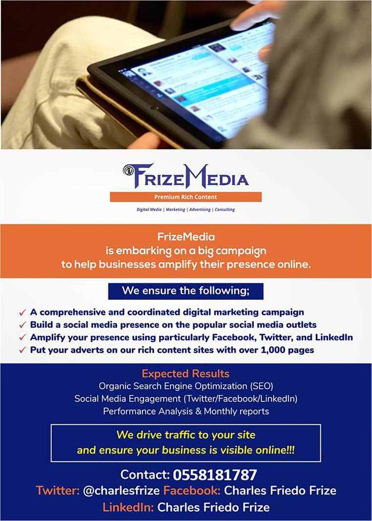 FrizeMedia - Social Media Marketing Advertise With Us