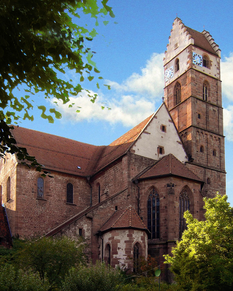 #Germany - #AlpirsbachMonastery Medieval Sandstone Island #Travel #FrizeMedia