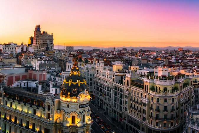 Madrid - Spain Capital Facts And Things To Do #Travel #FrizeMedia