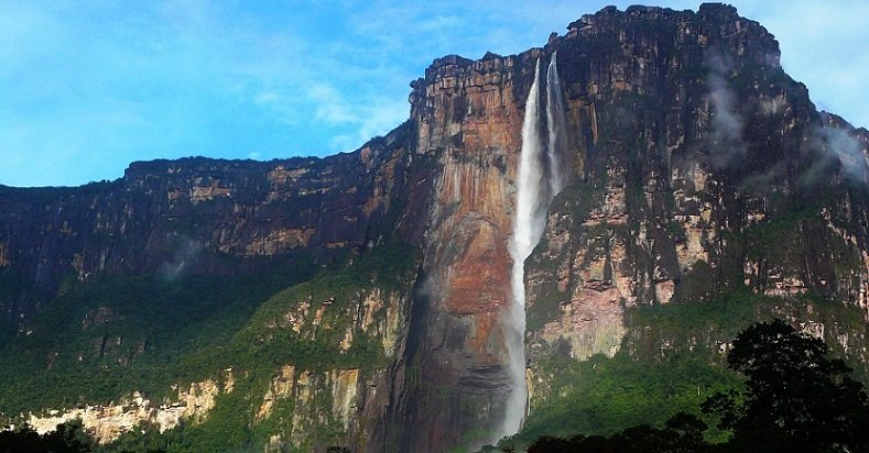 South America Angel Falls - Venezuela's Canaima National Park. FrizeMedia
