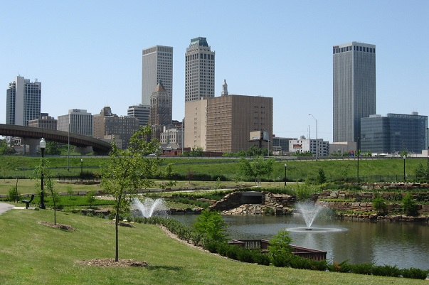 Tulsa Downtown Skyline - FrizeMedia - Digital Marketing And Advertising - Charles Friedo Frize