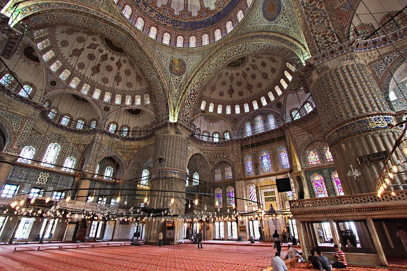 Turkey Istanbul Blue Mosque - #TurkeyTourism- #Travel Information And Guide #FrizeMedia #DigitalMarketing