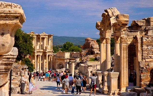 Turkey Ephesus - #TurkeyTourism- #Travel Information And Guide #FrizeMedia #DigitalMarketing