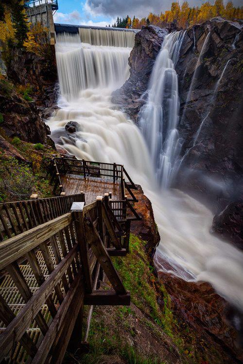 Waterfall Walkway Quebec -  An Overview And #Travel #FrizeMedia #DigitalMarketing